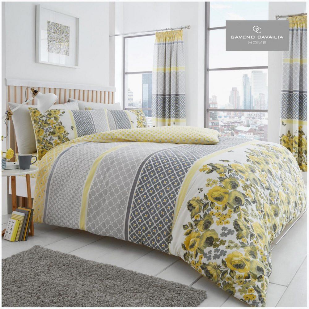 11153221 printed duvet set saphira double yellow grey 1 1