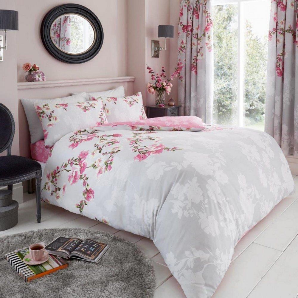 11153436 printed duvet set roseanne double grey 1 1