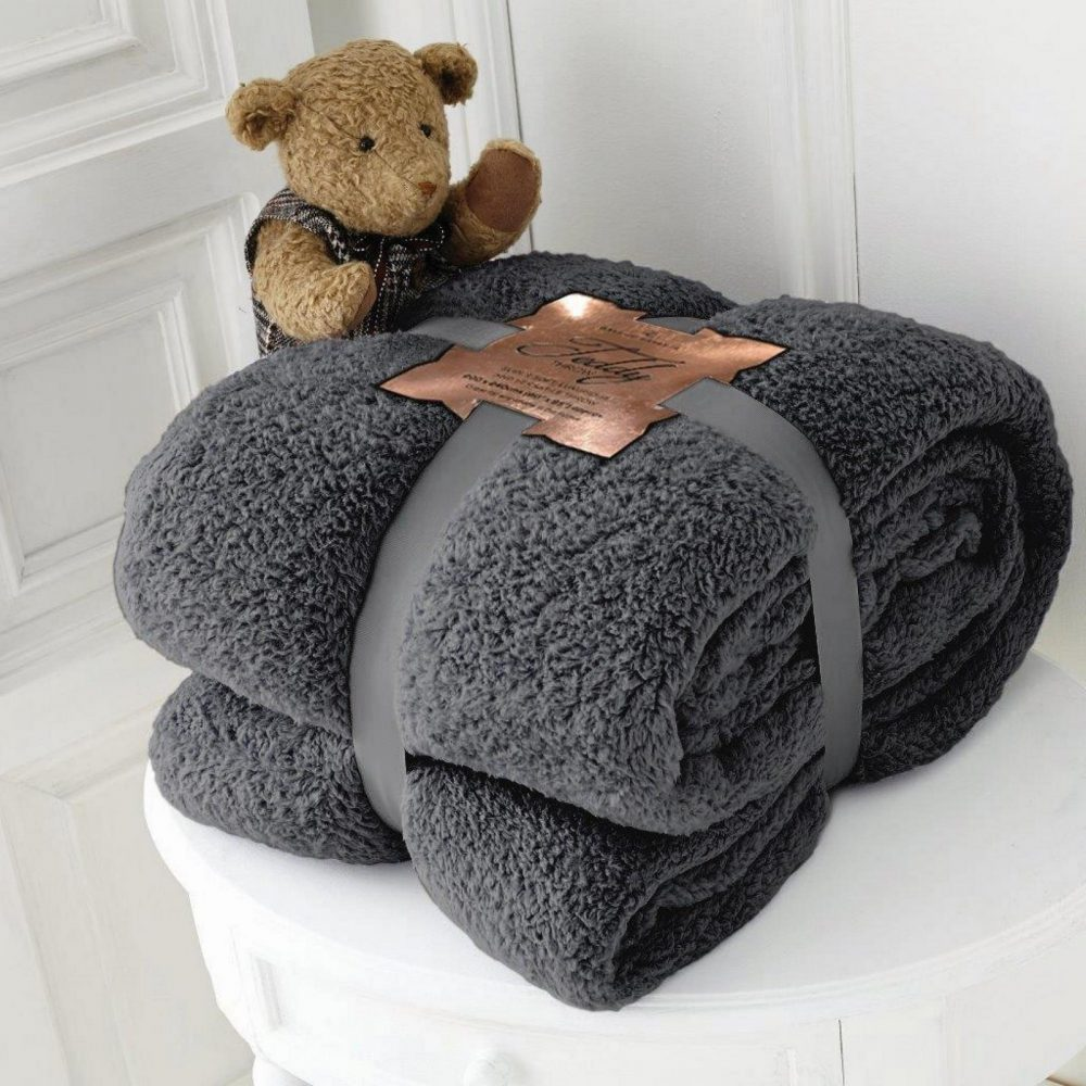 11154501 teddy collection throw 130x180 charcoal 1 1