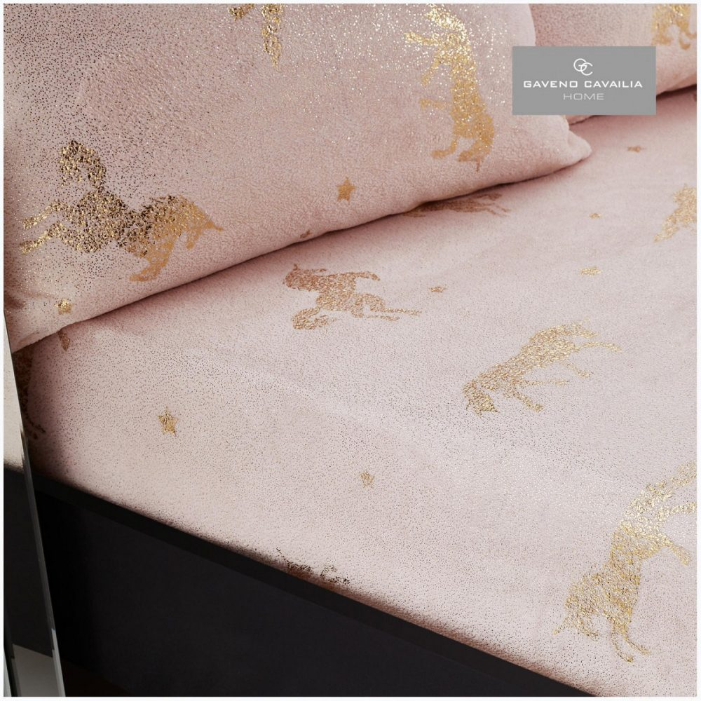 11154846 unicorn star foil fitted sheet double pink 1 1