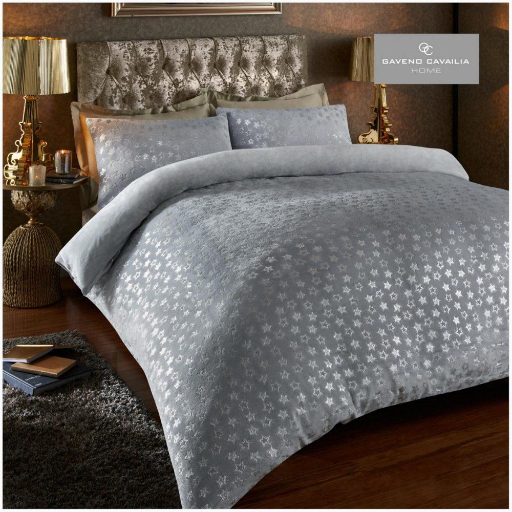 11155232 star foil duvet set double grey 1 1