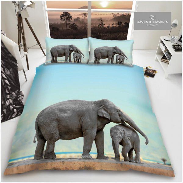 11155591 premium duvet set double 3d elephant 1 2