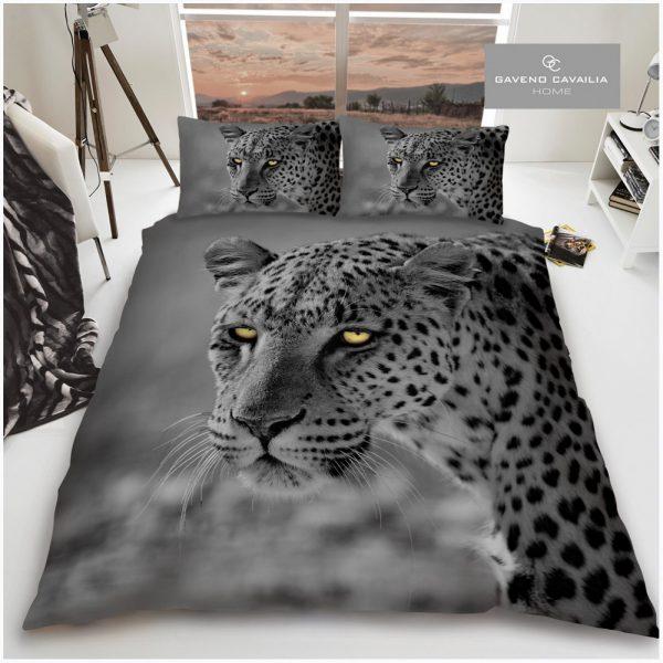11155775 premium duvet set double 3d leopard big cat 1 2
