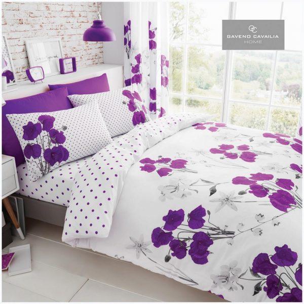 11155942 printed duvet set poppy double aubergine 1 2