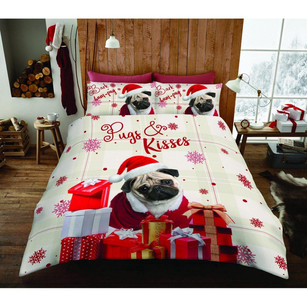 11156147 xmas duvet set hum pug double 1 2