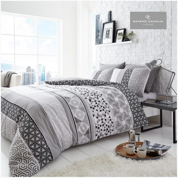 11156833 printed duvet set helsby double mono 1 2