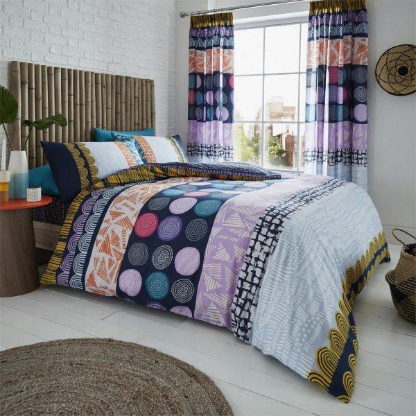 11157250 printed duvet set anouk double bright 1 2