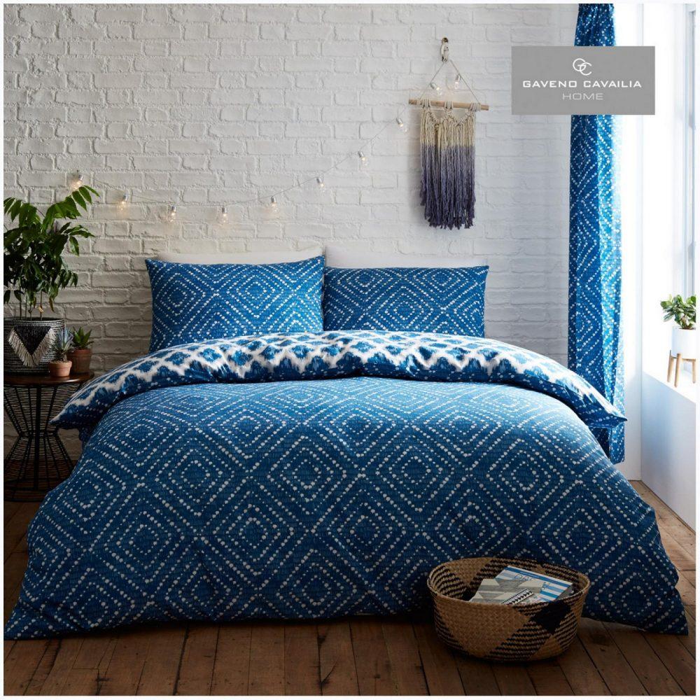 11157885 printed duvet set indigo diamond double blue 1 2