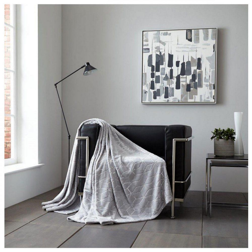 11158516 throw metallic cube 150x200 grey silver 1 1