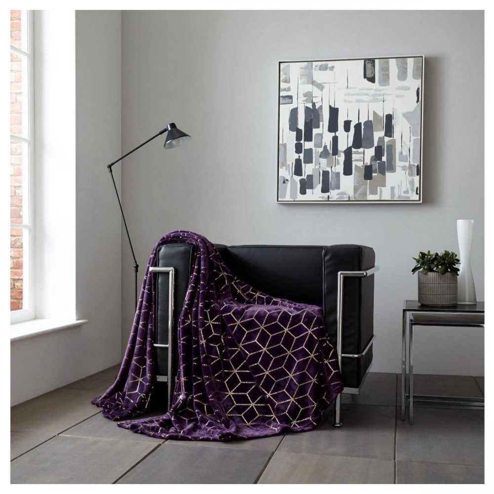 11158547 throw metallic cube 150x200 purple gold 1 1