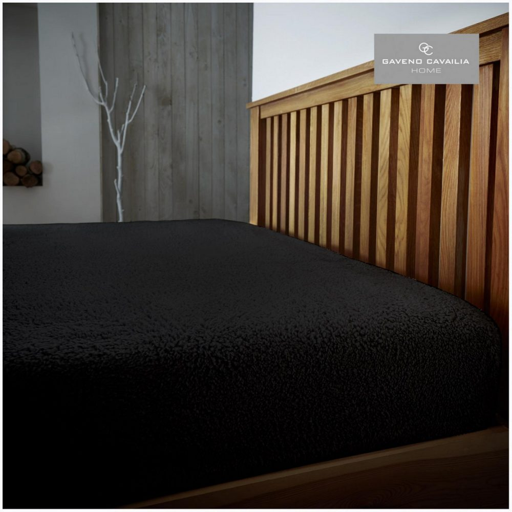11158721 teddy plain fitted sheet double black 1 1