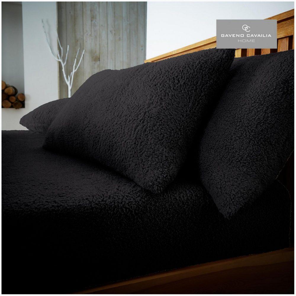 11158936 teddy pillow case black 1 1