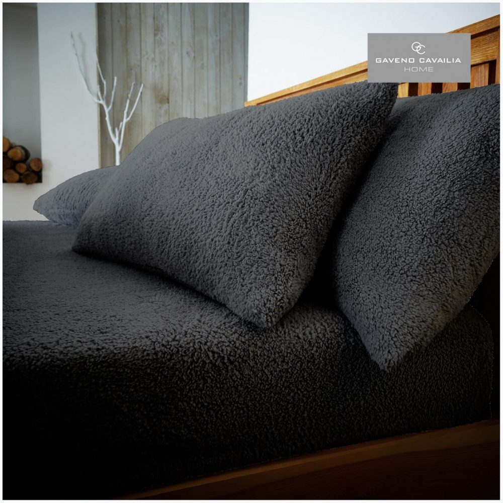 11158943 teddy pillow case charcoal 1 1