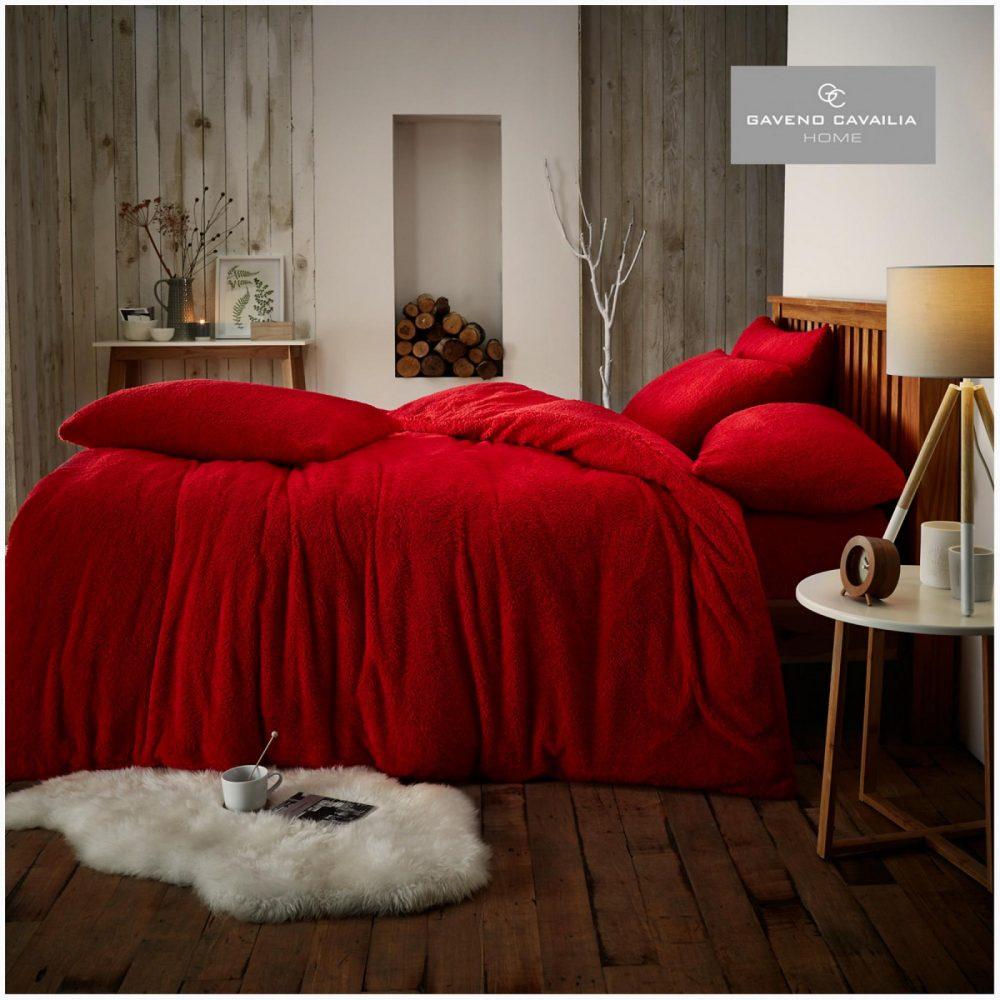 11159117 teddy plain duvet set double red 1 1