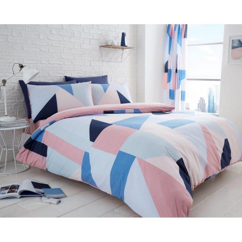 11159438 printed duvet set sydney double blue 1 2