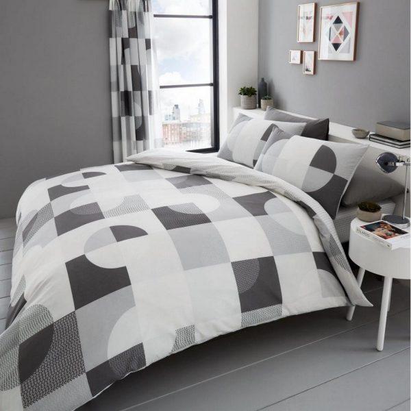 11160076 printed duvet set alexa double grey 1 2