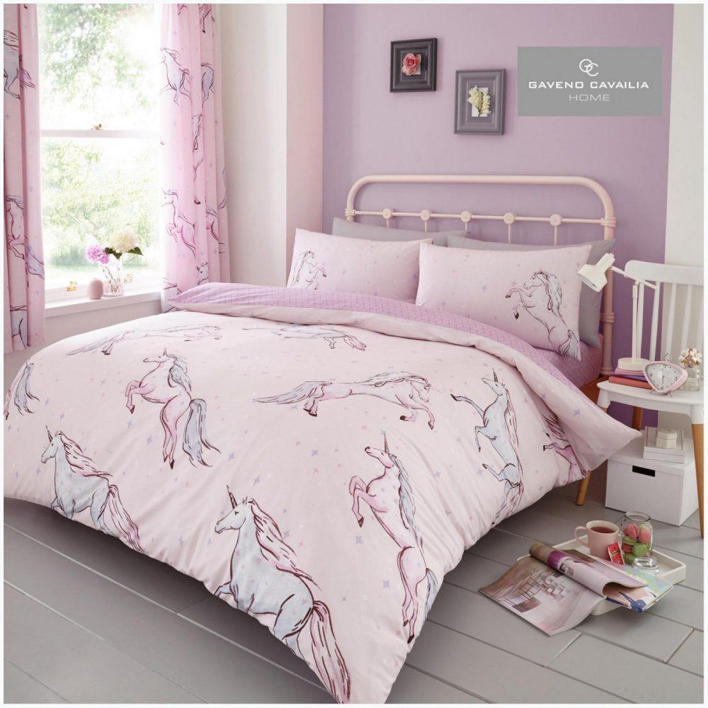 11160328 printed duvet set star unicorn double pink 1 2