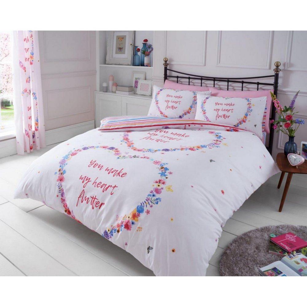 11161820 printed duvet set flutter double multi 1 1