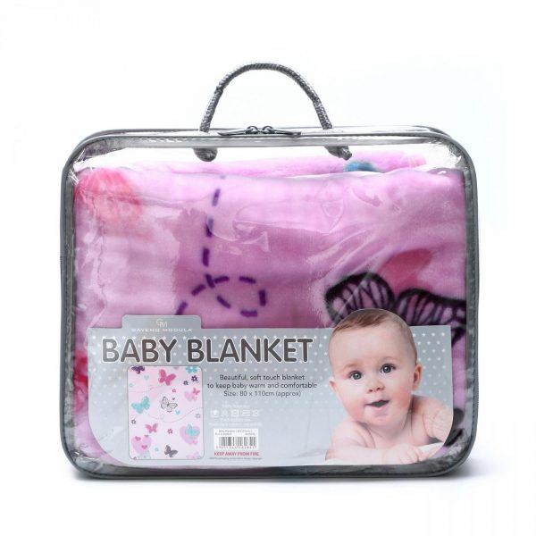 11162841 baby blanket 80x110 butterfly 1 2