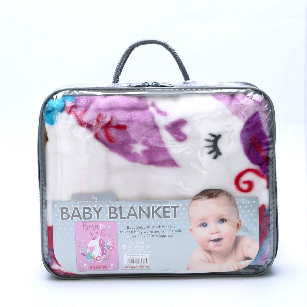 11162865 baby blanket 80x110 unicorn 2865 1 2