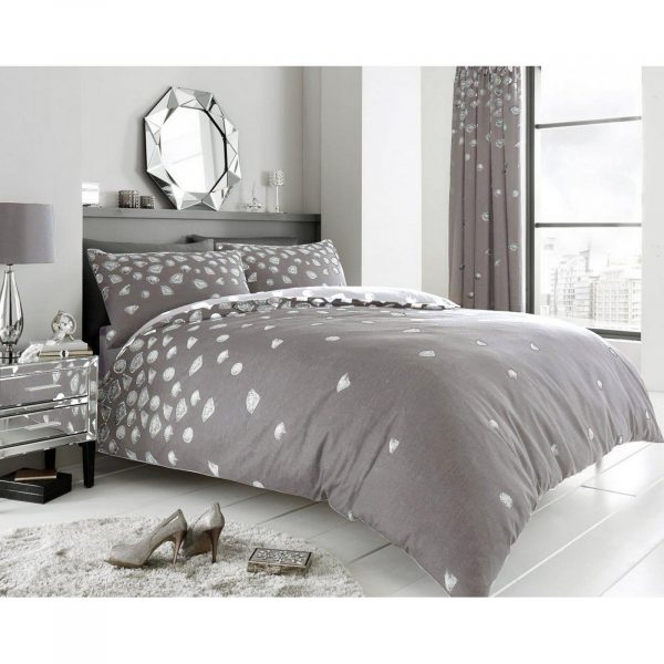 11164593 printed duvet set be jewelled double grey 1 2
