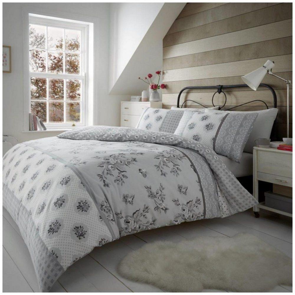 11164722 flannel duvet set evelyn double grey 1 2