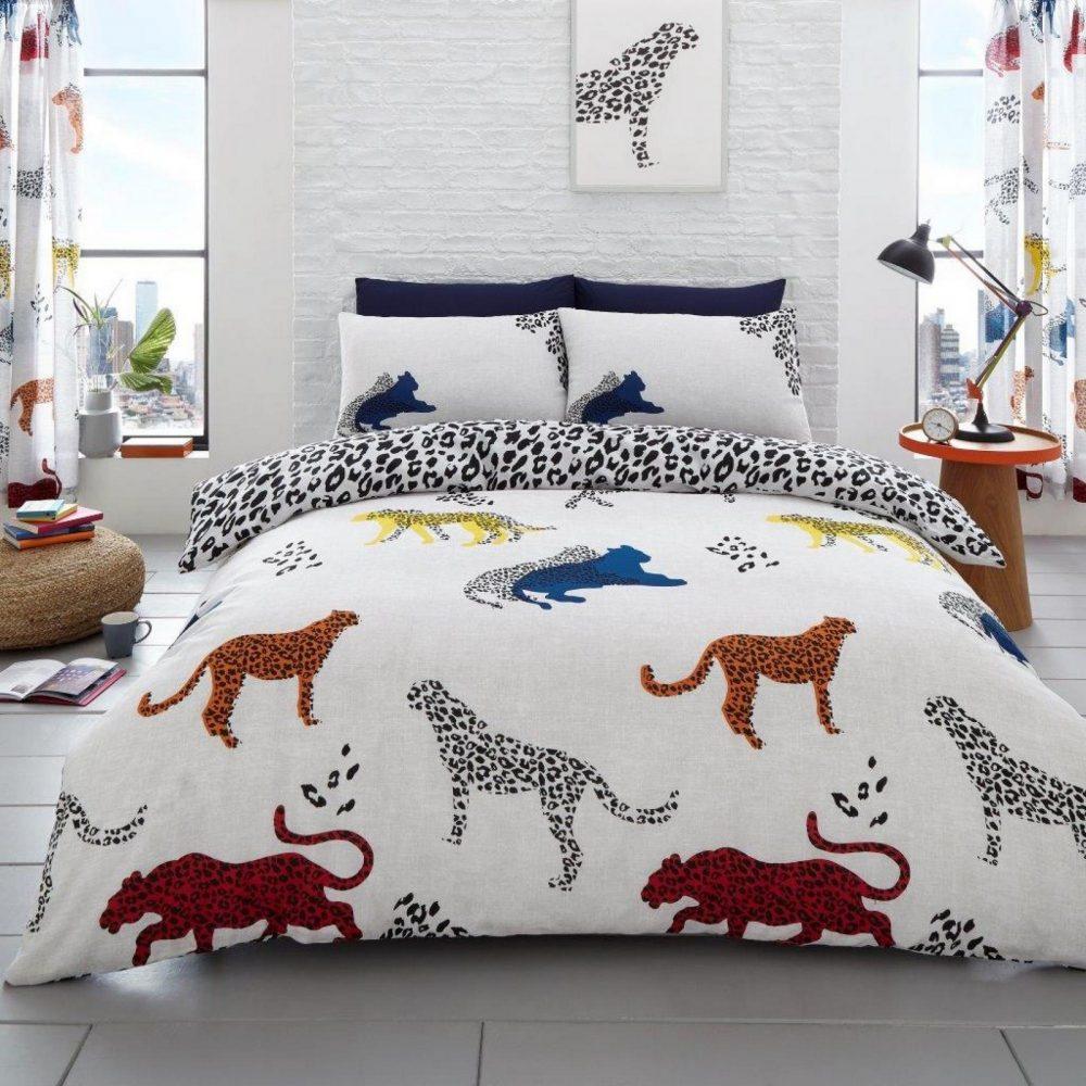 11165439 printed duvet set cheetah double natural 1 2