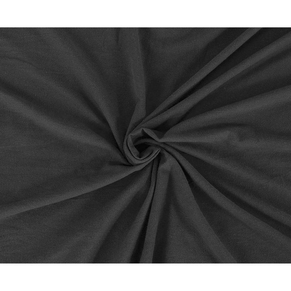 11169710 flannel plain flat sheet king charcoal 1 2