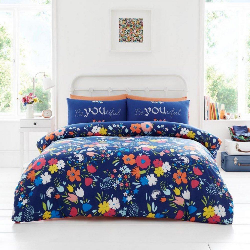 11357339 printed duvet set emily floral double navy 1 2