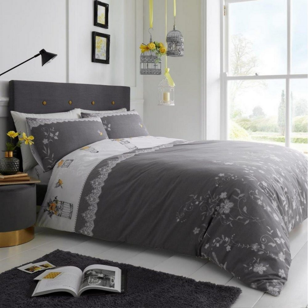11357674 printed duvet set lucy double grey 1 2