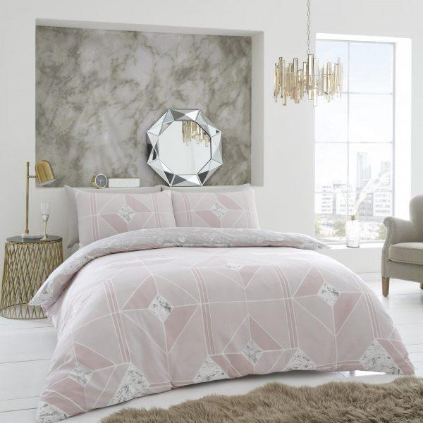 11358961 printed duvet set harmony double blush pink 1 2
