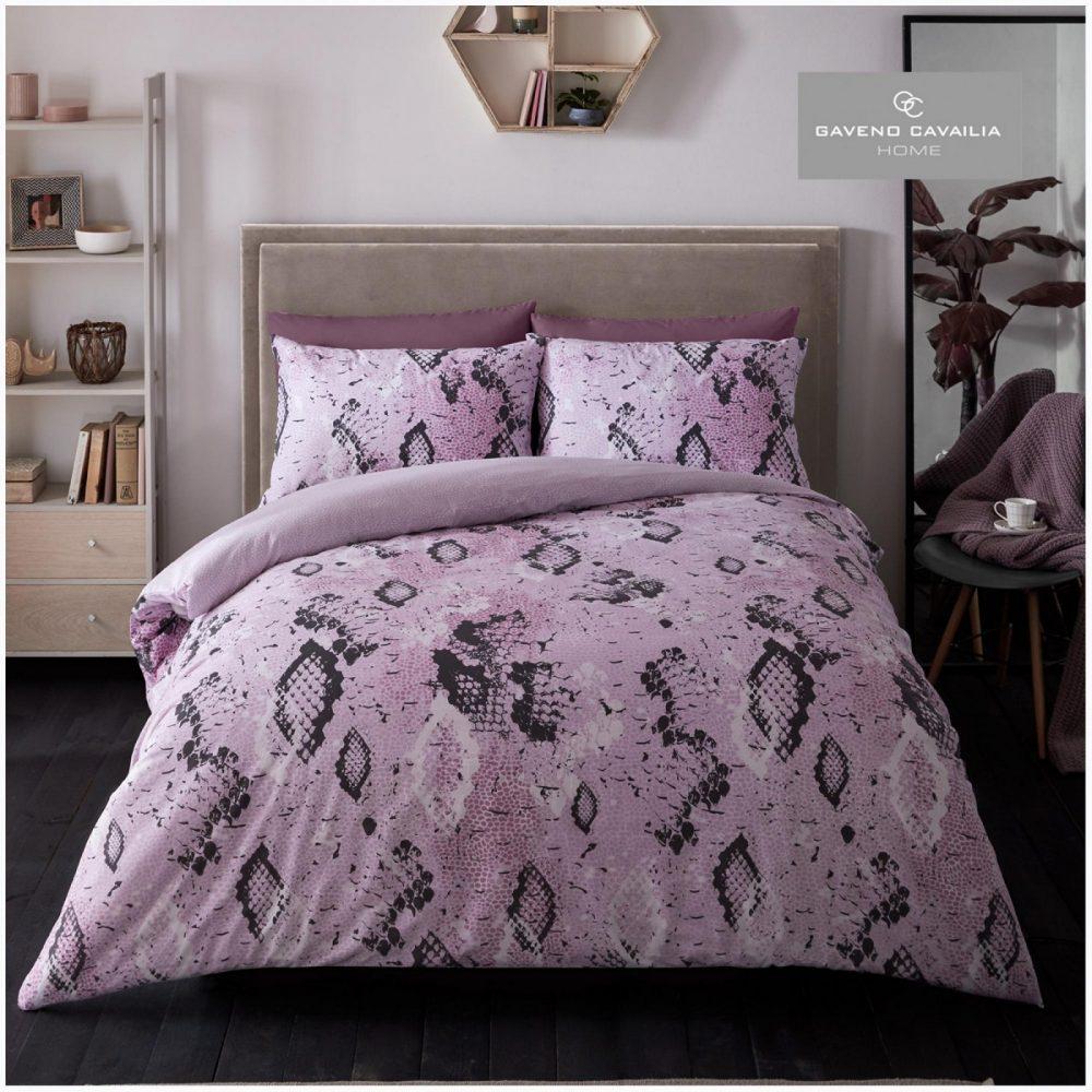 11359357 printed duvet set snake skin double pink 1 1