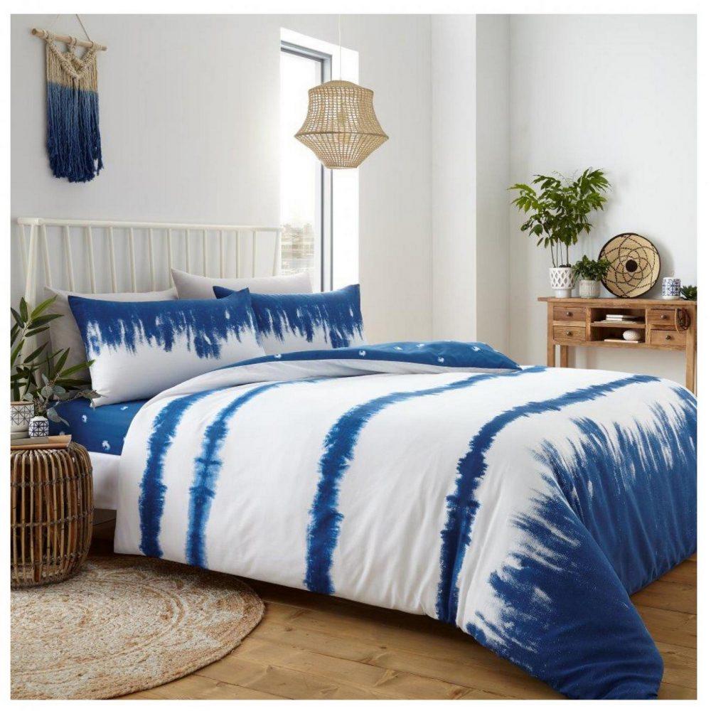 11361732 printed duvet set tie dye double blue 1 2