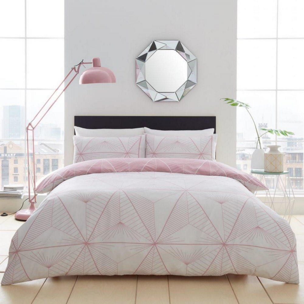 11361886 printed duvet set zander double blush pink 1 1