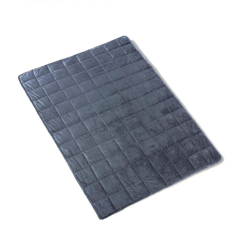 11364498 weighted blanket super soft minky 150x200 4498 7 7 kg net 1 2