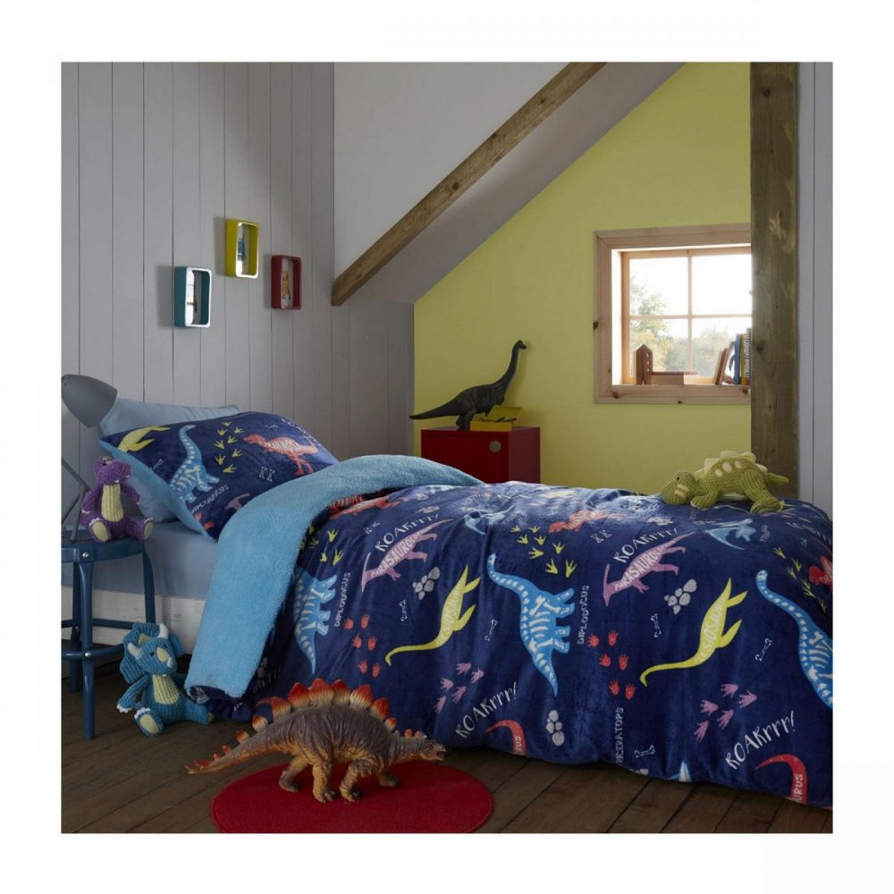 11365976 teddy kids duvet set dinosaur roar double 1 2