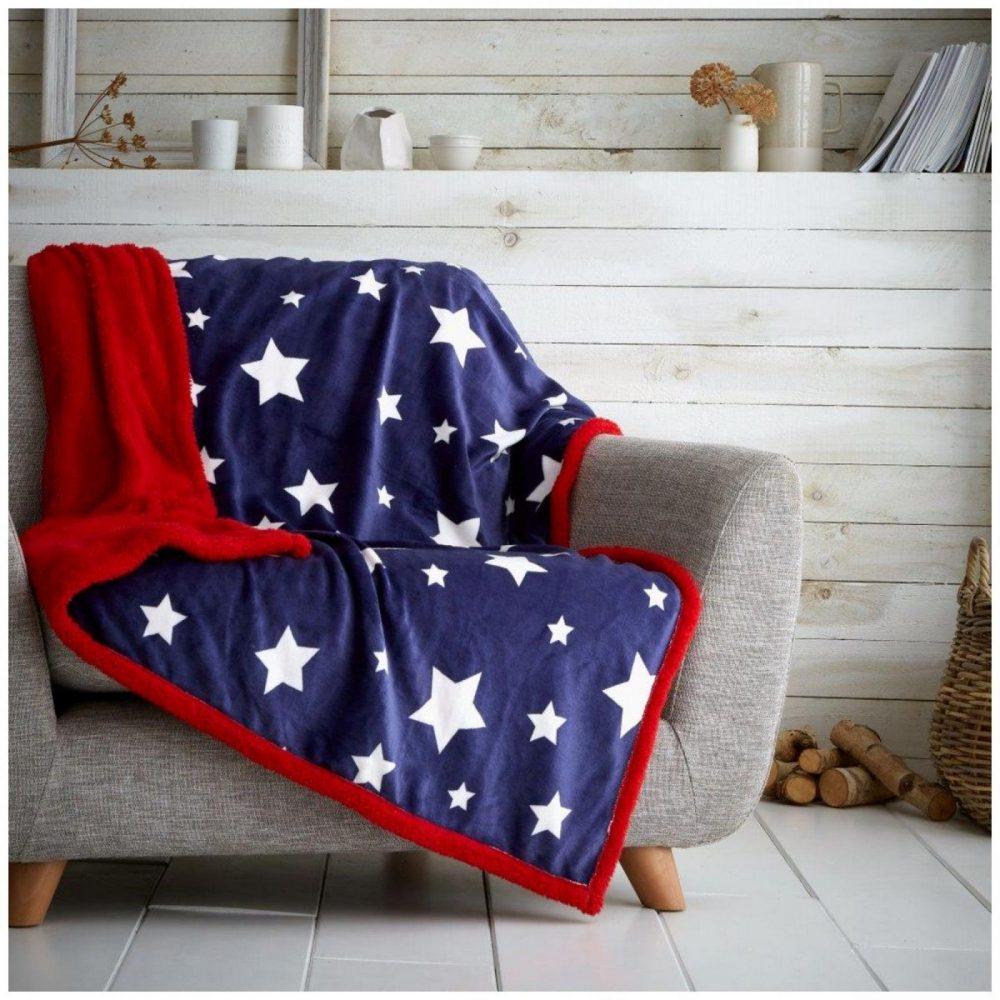 11366744 teddy throw star teddy 130x180 navy 1 1