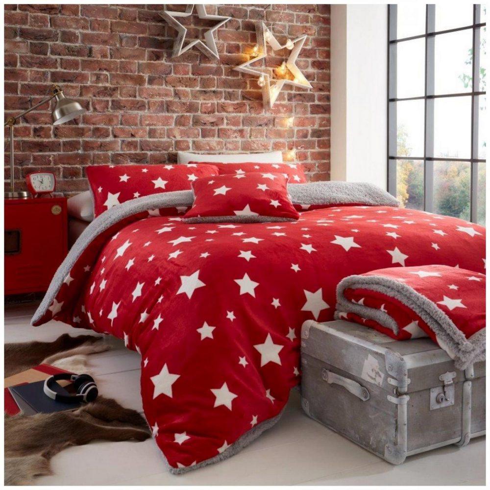 11366775 teddy star duvet set double red 1 1