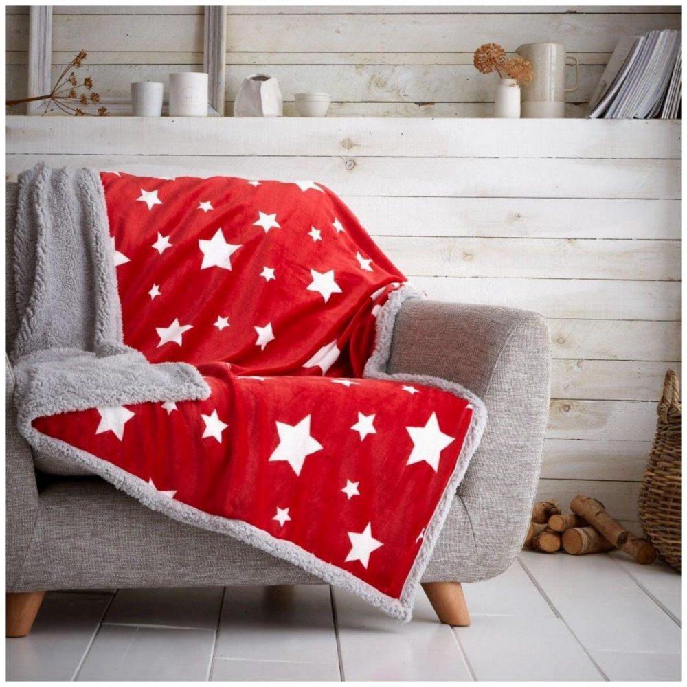 11366805 teddy throw star teddy 130x180 red 1 1