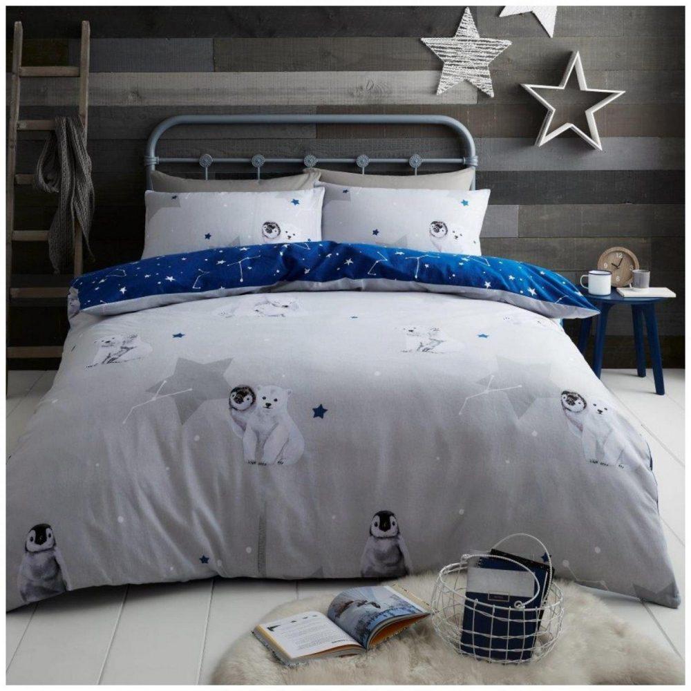 11367130 flannel duvet set artica double navy 1 2