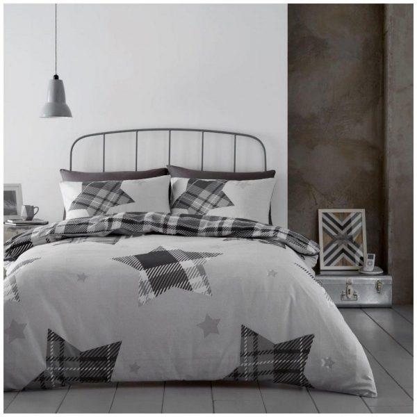 11367253 flannel duvet set jaden double grey 1 2