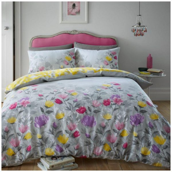 11368694 flannel duvet set chloe double grey 1 2