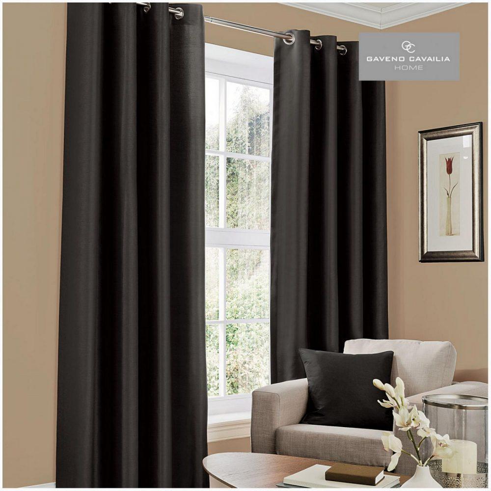31079422 faux silk eyelet curtains 66x54 black 1 2