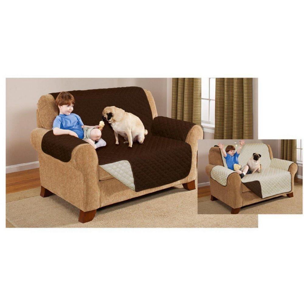 31117315 sofa covers double seater chocolate cream 1 1