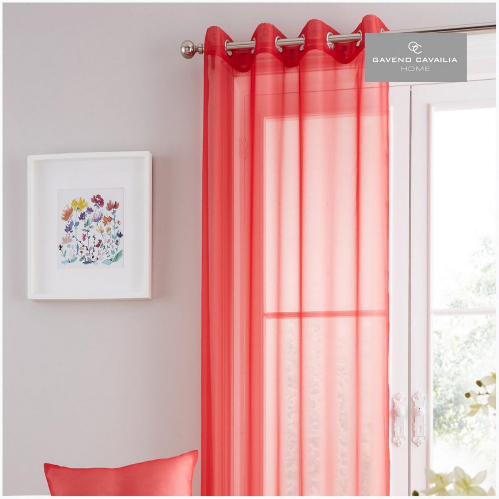 31125723 swiss v pile panel curtain 55x90 deep red 1 1