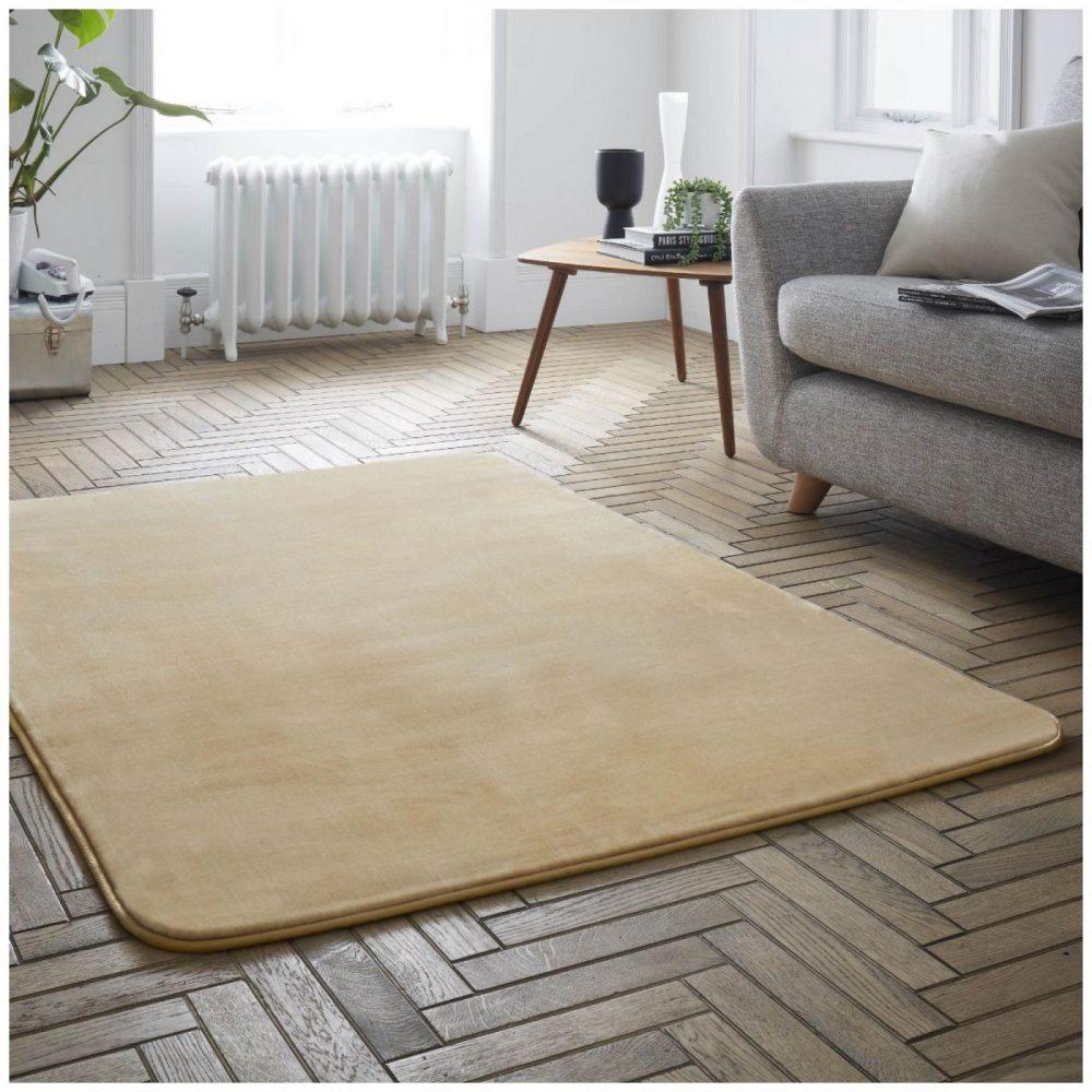 31136521 velvet touch rugs 100x150 gold 6521 1 1
