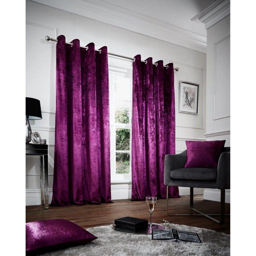 31148968 velvet cushion cover 45x45 aubergine 1 2