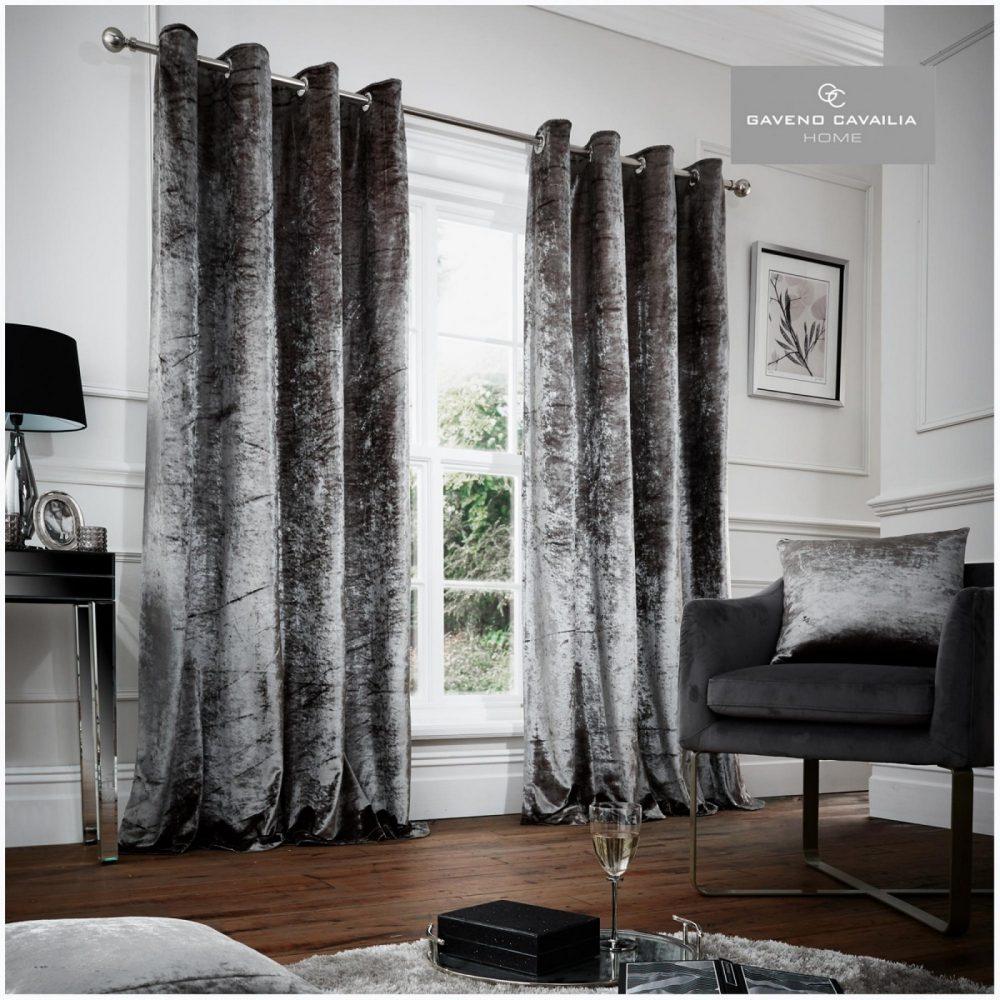 31148982 crushed velvet curtain 66x72 grey 1 3