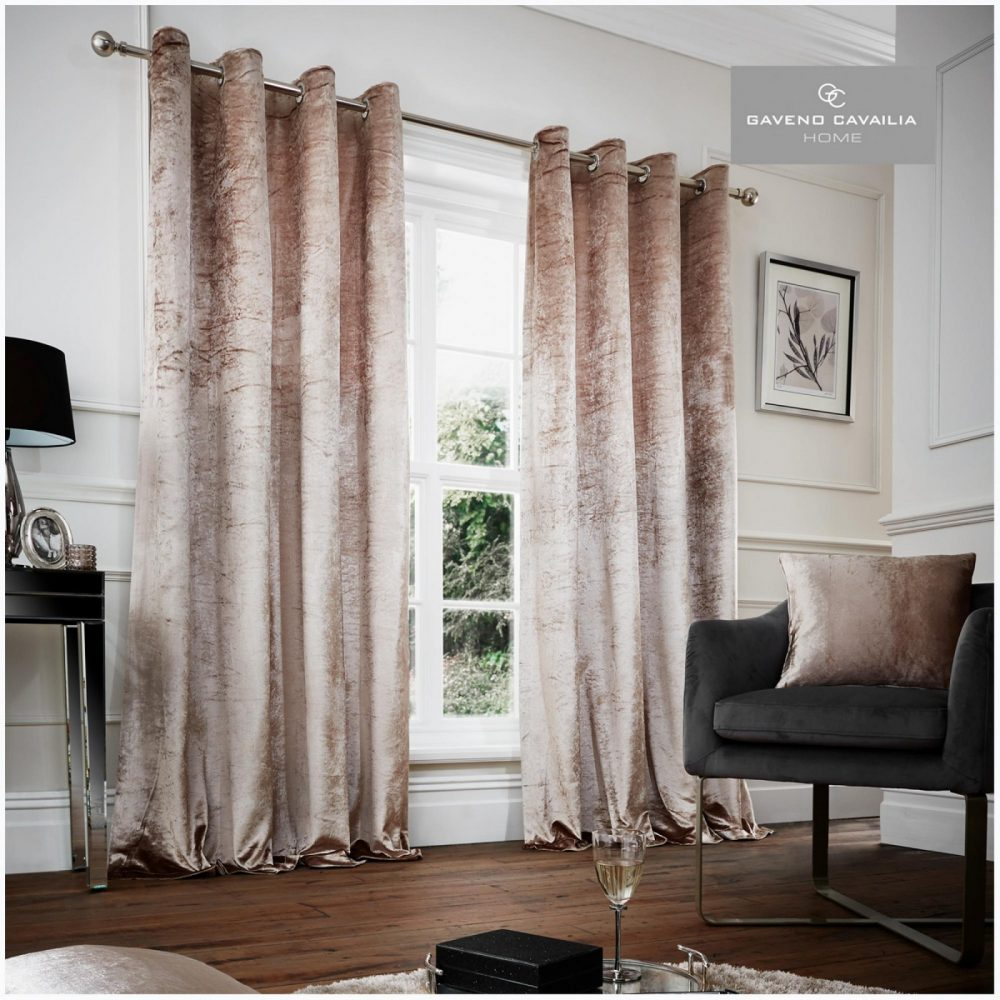 31149002 crushed velvet curtain 66x72 champagne 1 3