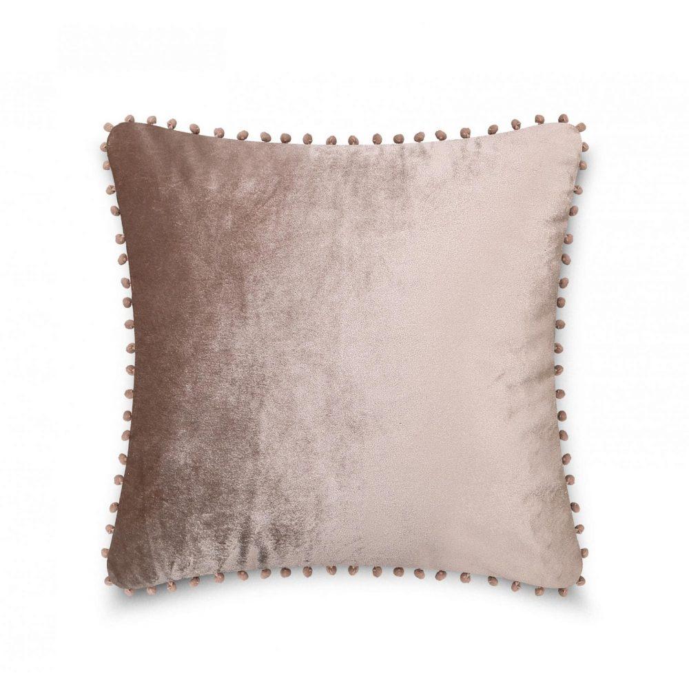 31159759 cushion cover pom pom 43x43 mink 1 4